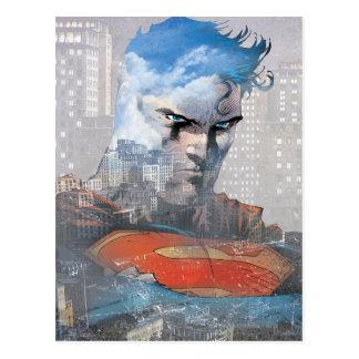 Superman Stare Postcard