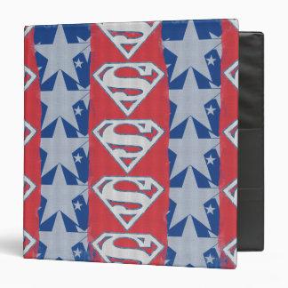 Superman Stars and Logo 3 Ring Binders