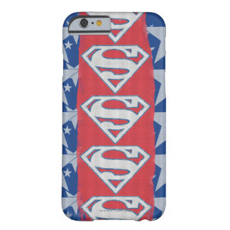 Superman Stars and Logo Barely There iPhone 6 Case