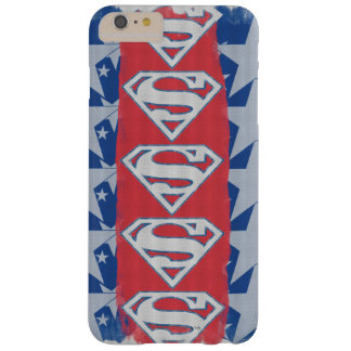 Superman Stars and Logo Barely There iPhone 6 Plus Case