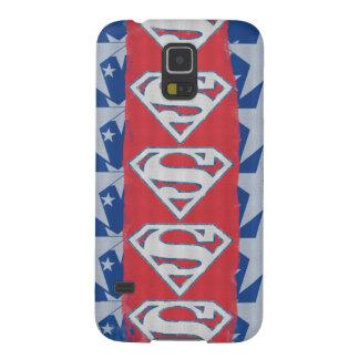 Superman Stars and Logo Galaxy S5 Case