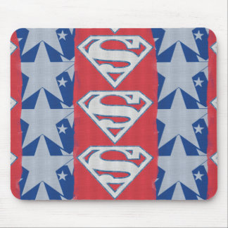 Superman Stars and Logo Mouse Pad