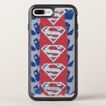 Superman Stars and Logo OtterBox Symmetry iPhone 8 Plus/7 Plus Case