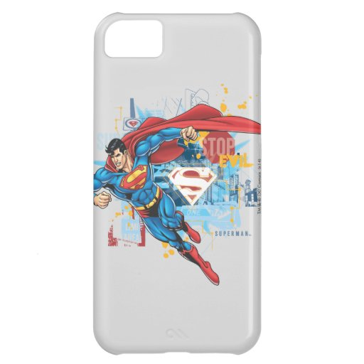 Superman - Stop Evil iPhone 5C Cover