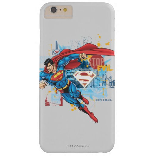 Superman - Stop Evil Barely There iPhone 6 Plus Case