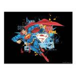 Superman - Stop Evil Postcard