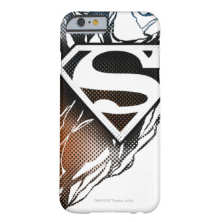 Superman Stylized | Blue Orange Logo Barely There iPhone 6 Case