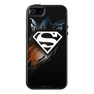 Superman Stylized | Blue OrangeLogo OtterBox iPhone 5/5s/SE Case