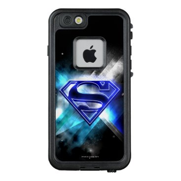 USA Themed Superman Stylized | Blue White Crystal Logo LifeProof FRĒ iPhone 6/6s Case