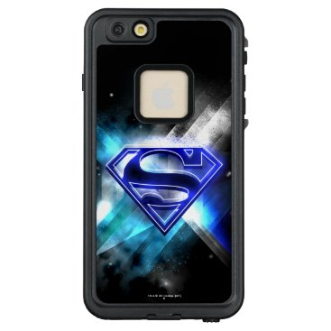 USA Themed Superman Stylized | Blue White Crystal Logo LifeProof FRĒ iPhone 6/6s Plus Case