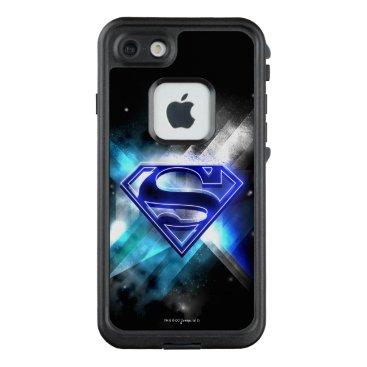 Superman Stylized | Blue White Crystal Logo LifeProof FRĒ iPhone 7 Case