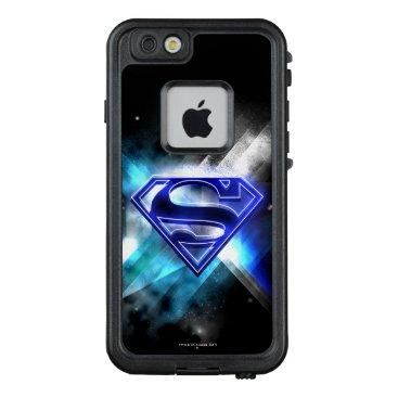 Superman Stylized | Blue White Crystal Logo LifeProof FRĒ iPhone 6/6s Case
