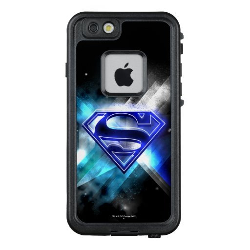 Superman Stylized | Blue White Crystal Logo LifeProof FRĒ iPhone 6/6s Case