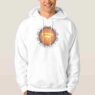 Superman Stylized | Crackle Logo Hoodie