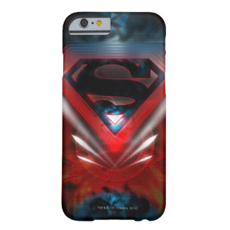 Superman Stylized | Futuristic Logo Barely There iPhone 6 Case