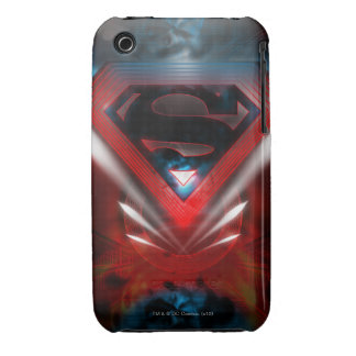 Superman Stylized | Futuristic Logo Case-Mate iPhone 3 Cases