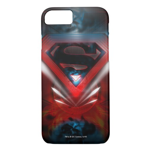 Superman Stylized | Futuristic Logo iPhone 8/7 Case