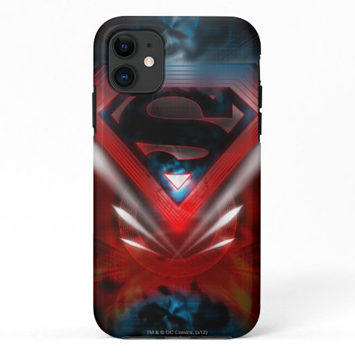 Superman Stylized | Futuristic Logo iPhone 11 Case