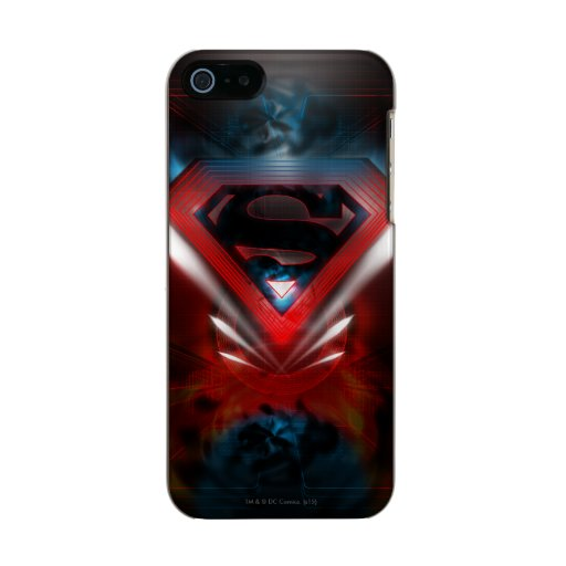 Superman Stylized | Futuristic Logo Metallic iPhone SE/5/5s Case