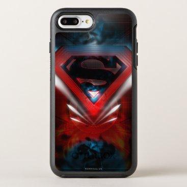 Superman Stylized | Futuristic Logo OtterBox Symmetry iPhone 8 Plus/7 Plus Case