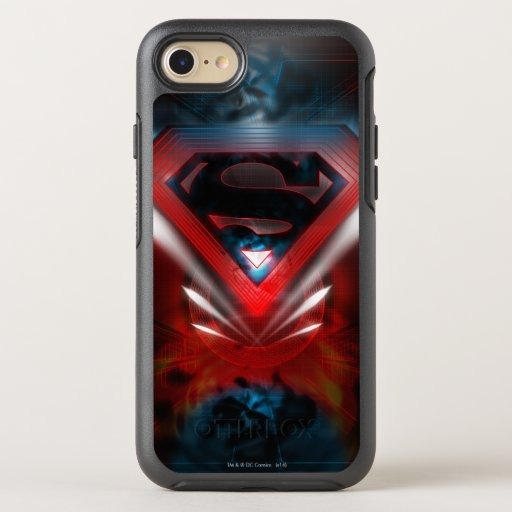 Superman Stylized | Futuristic Logo OtterBox Symmetry iPhone SE/8/7 Case
