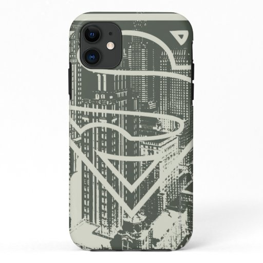 Superman Stylized | Green Metropolis Logo iPhone 11 Case