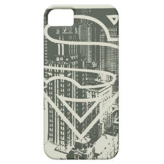 Superman Stylized   Green Metropolis Logo iPhone SE/5/5s Case