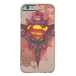 Superman Stylized   Grunge Design Logo Barely There iPhone 6 Case