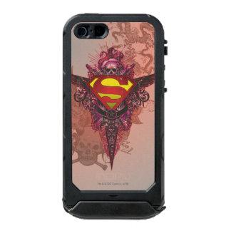 Superman Stylized | Grunge Design Logo Waterproof Case For iPhone SE/5/5s