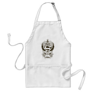 Superman Stylized | Honor, Truth and Justice Logo Adult Apron