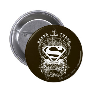 Superman Stylized | Honor, Truth and Justice Logo Button