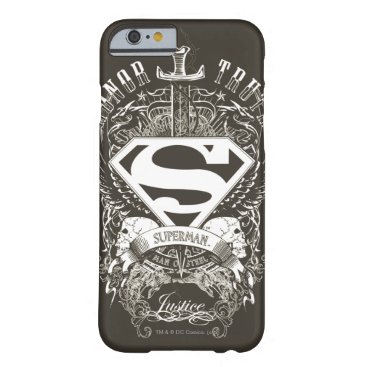 Superman Stylized   Honor, Truth and Justice Logo Barely There iPhone 6 Case