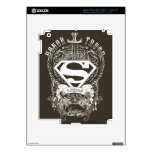 Superman Stylized | Honor, Truth and Justice Logo Decals For iPad 3