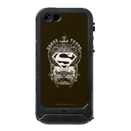 Superman Stylized | Honor, Truth and Justice Logo Waterproof Case For iPhone SE/5/5s