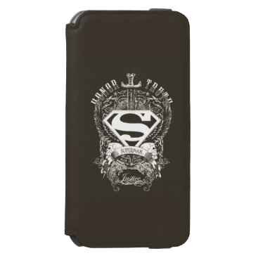 Superman Stylized   Honor, Truth and Justice Logo iPhone 6/6s Wallet Case