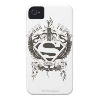 Superman Stylized | Honor, Truth and Justice Logo iPhone 4 Case-Mate Case
