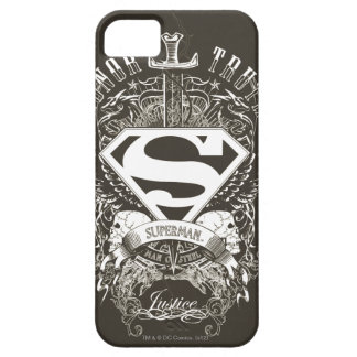 Superman Stylized | Honor, Truth and Justice Logo iPhone SE/5/5s Case