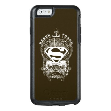 Superman Stylized   Honor, Truth and Justice Logo OtterBox iPhone 6/6s Case
