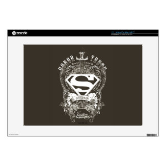 "Superman Stylized | Honor, Truth and Justice Logo Skins For 15"" Laptops"