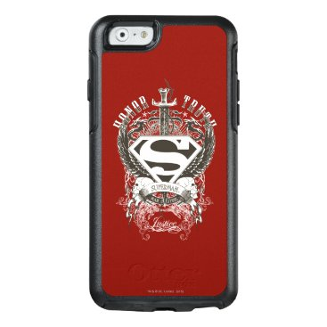 Superman Stylized   Honor, Truth on White Logo 2 OtterBox iPhone 6/6s Case