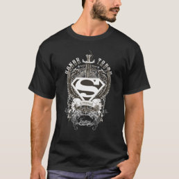 Superman Stylized | Honor, Truth on White Logo T-Shirt