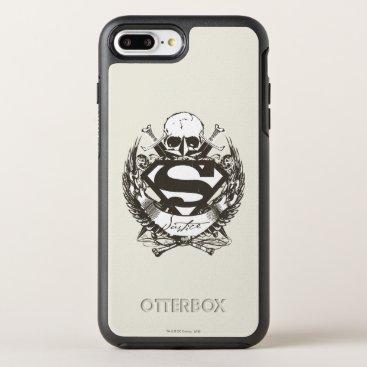 Superman Stylized | Justice Logo OtterBox Symmetry iPhone 8 Plus/7 Plus Case
