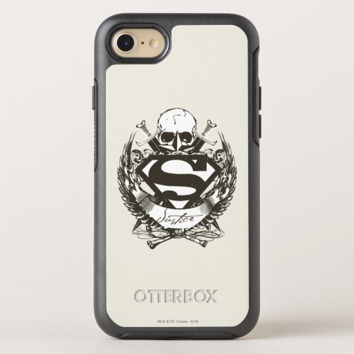 Superman Stylized | Justice Logo OtterBox Symmetry iPhone SE/8/7 Case