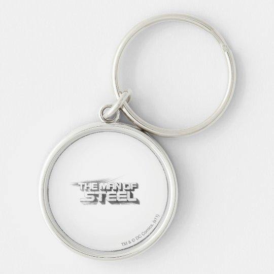 Superman Stylized | Man of Steel Drawing Logo Keychain