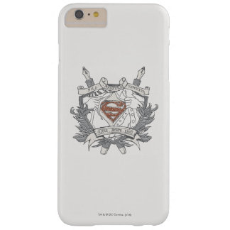 Superman Stylized | Mild Mannered Reporter Logo Barely There iPhone 6 Plus Case