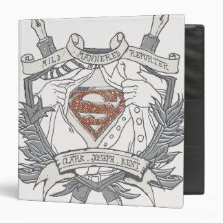 Superman Stylized | Mild Mannered Reporter Logo Binder