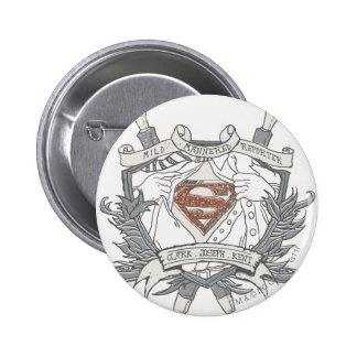 Superman Stylized | Mild Mannered Reporter Logo Button