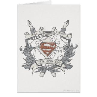 Superman Stylized | Mild Mannered Reporter Logo Card