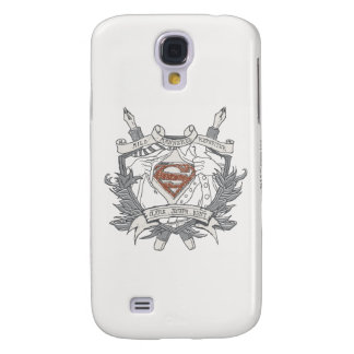 Superman Stylized | Mild Mannered Reporter Logo Galaxy S4 Cover