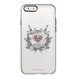 Superman Stylized | Mild Mannered Reporter Logo Incipio Feather® Shine iPhone 6 Case